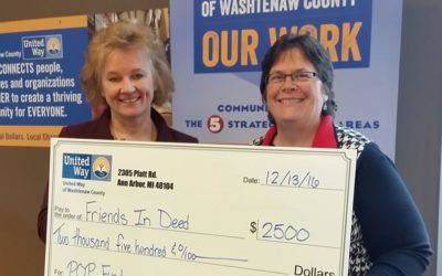 Thank You United Way of Washtenaw County!