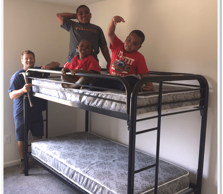 Thank You Rotary Club of Ann Arbor: Bunk Beds for Kids