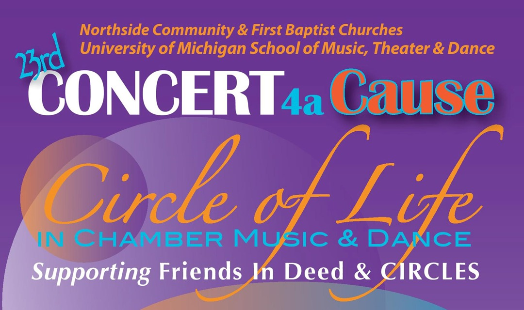 Concert 4a Cause To Benefit Friends In Deed Friends In Deed
